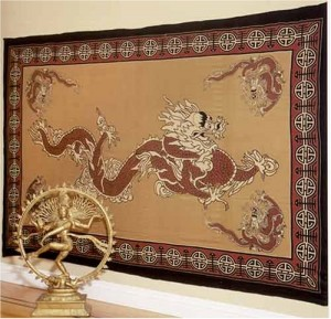 Asian Dragon Blanket